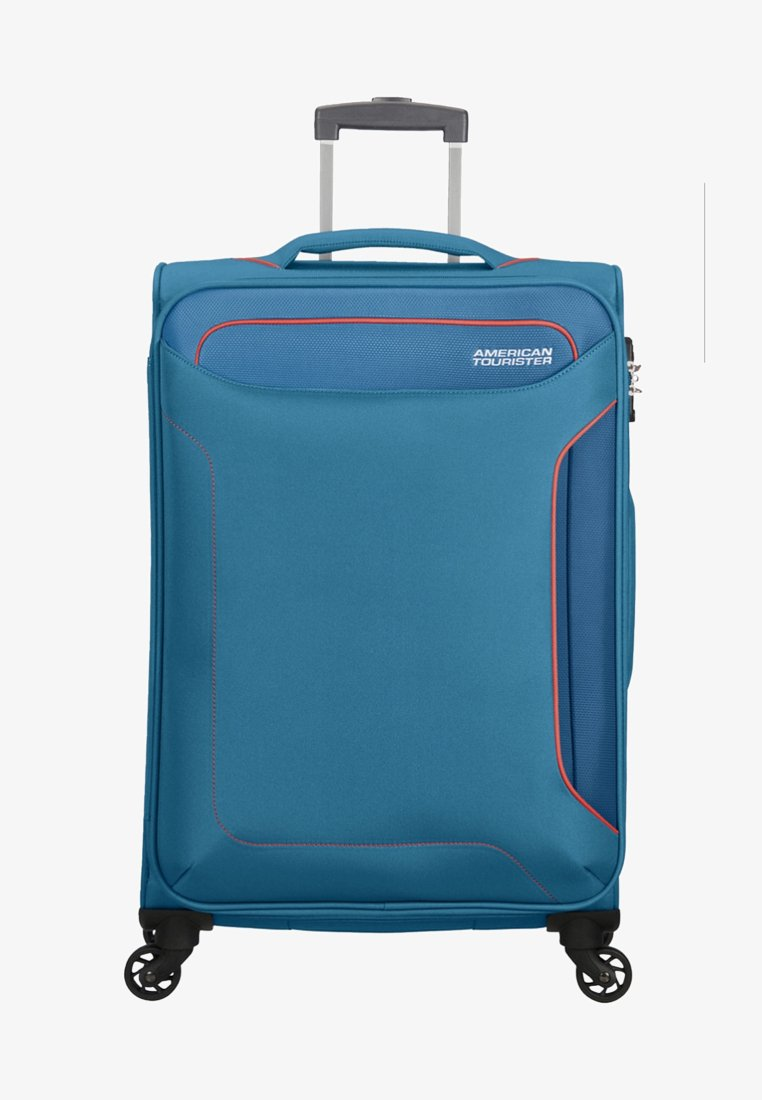 American Tourister - HOLIDAY HEAT - Wheeled suitcase - denim blue