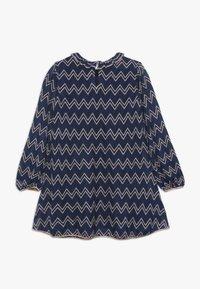 Missoni Kids - DRESS - Pletené šaty - blue - 1