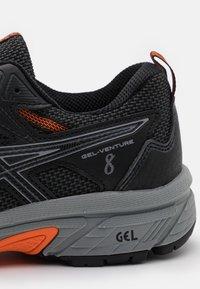 ASICS - GEL VENTURE 8 - Chaussures de running - black/sheet rock - 5