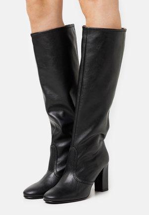 BOOT  - Kozačky na vysokém podpatku - black