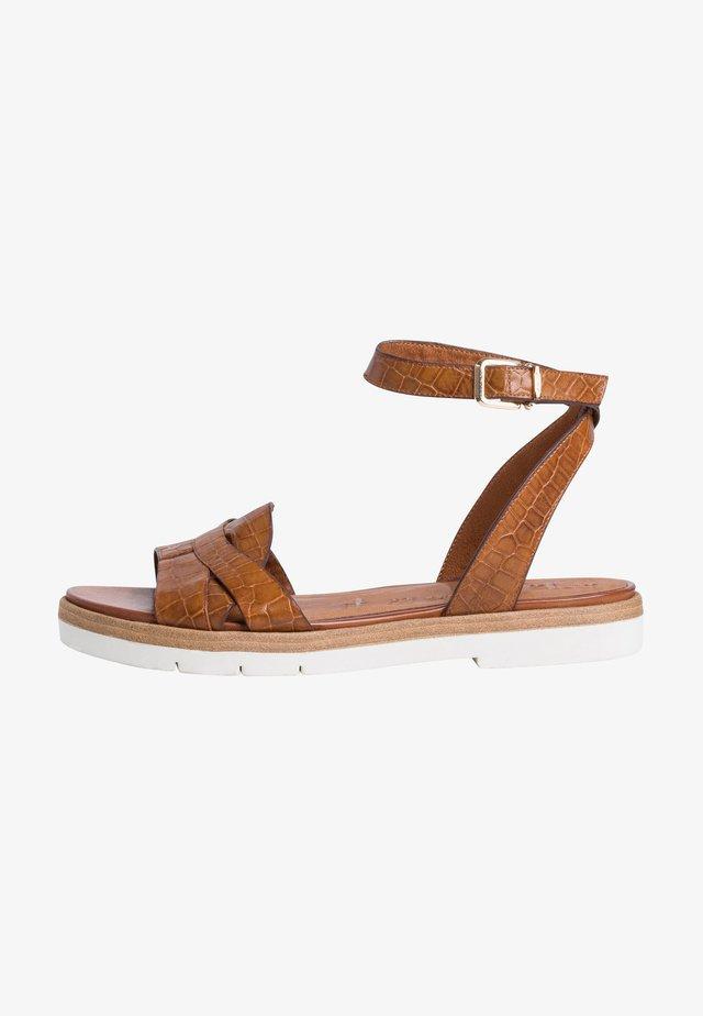 Sandali - nut croco
