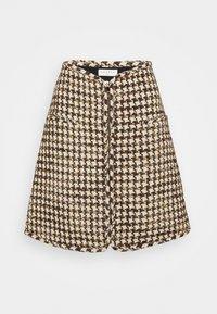 sandro - Mini skirt - marron beige - 4