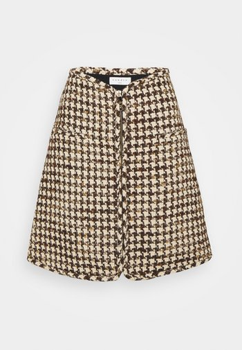 Mini skirt - marron beige