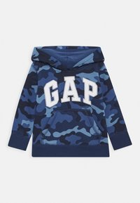 GAP - TODDLER BOY LOGO - Bluza z kapturem - blue - 0