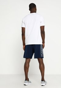 Under Armour - WORDMARK - Sports shorts - academy/graphite - 2