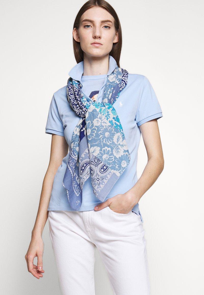 Polo Ralph Lauren - FLORAL PATCHWORK - Foulard - indigo