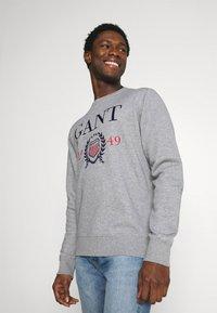 GANT - Sweatshirt - grey melange - 0