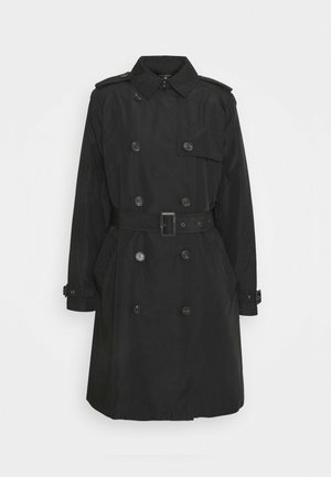 TAFFETA  - Trenchcoat - black