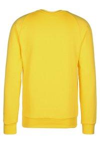 adidas Performance - CORE ELEVEN FOOTBALL LONG SLEEVE PULLOVER - Sweatshirt - yellow - 1