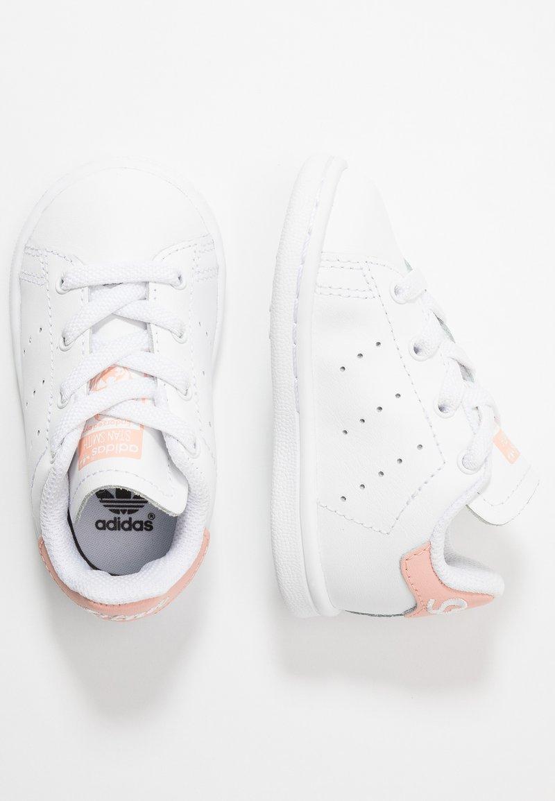 adidas Originals - STAN SMITH - Slip-ons - footwear white/glow pink