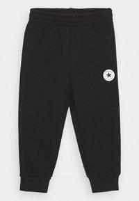 Converse - FLAMES HOODIE SET - Pantaloni sportivi - dark grey heather - 2