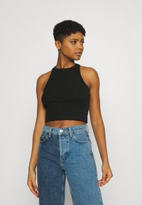 Even&Odd - 2 PACK - Top - black/lilac - 3
