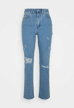 THIGH COMFORT STRETCH - Slim fit jeans - blue