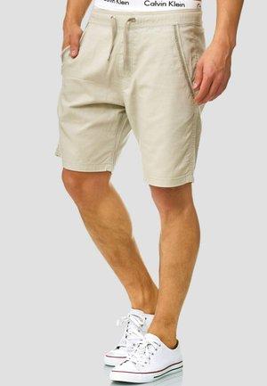 REGULAR FIT - Shorts - light grey