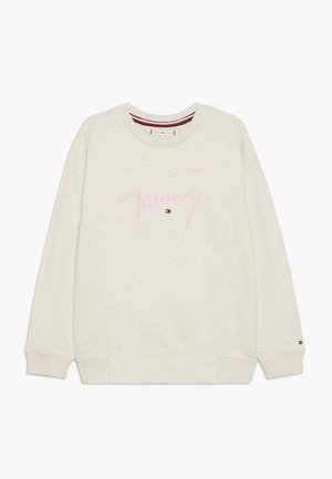 SIGNATURE CREW - Sweatshirt - off-white