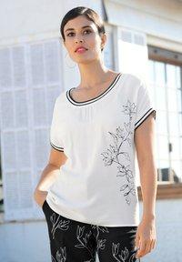 Alba Moda - Blouse - off-white,schwarz - 4