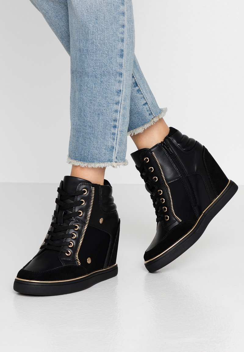 Anna Field - High-top trainers - black