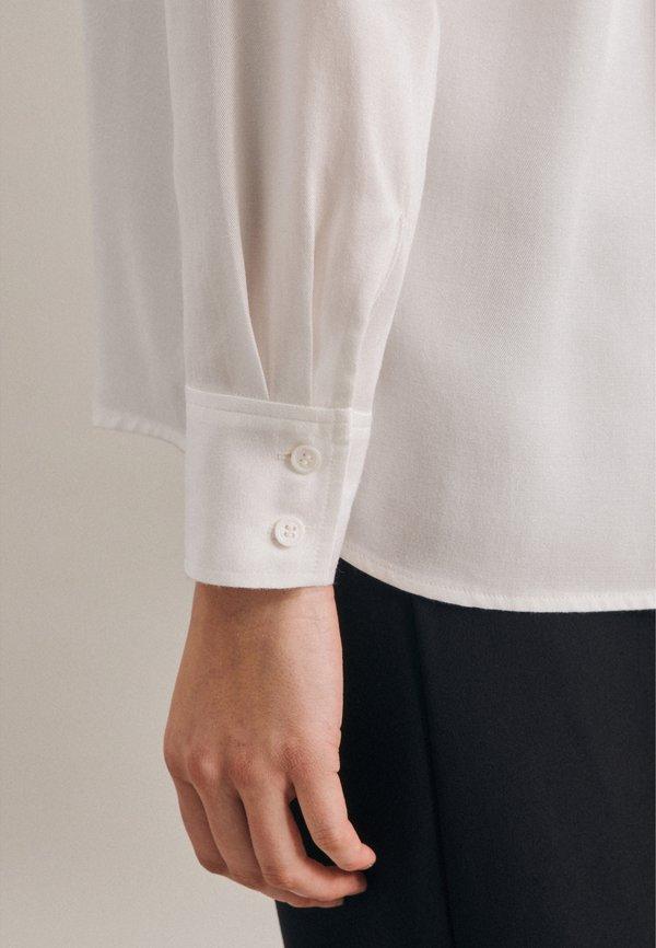 Seidensticker Koszula - weiss/beżowy OKST