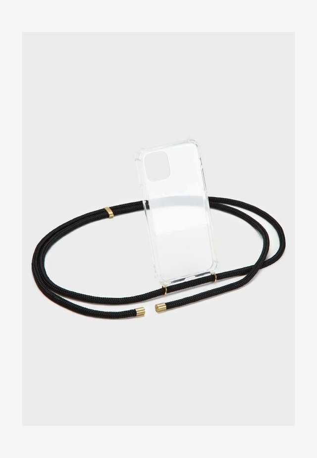 BASIC IPHONE 12 PRO MAX - Phone case - black/gold