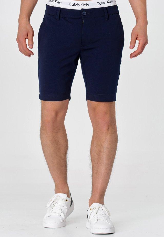 Shorts - navy check