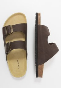 Pier One - Slippers - brown - 1