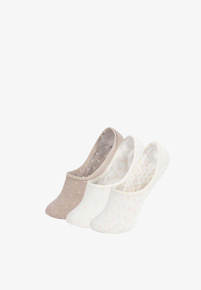 3 PAIRS - Ponožky - white