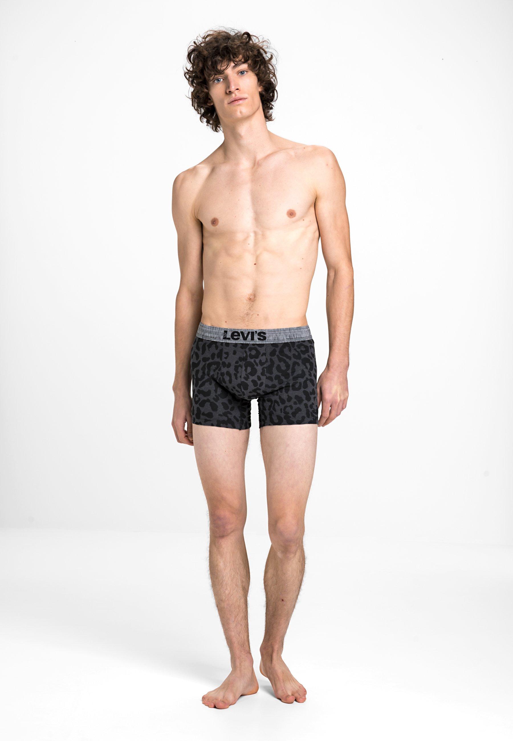 Men MEN GIFTBOX LEOPARD BOXER BRIEF 3 PACK - Pants
