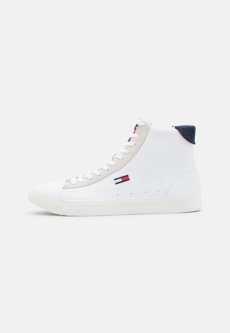 Tommy Jeans - RETRO - High-top trainers - white