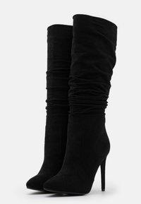 RAID Wide Fit - SELAH - Boots med høye hæler - black - 2