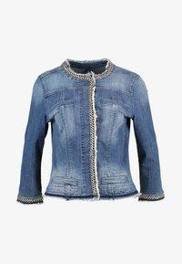 KATE - Denim jacket - denim blue stretch