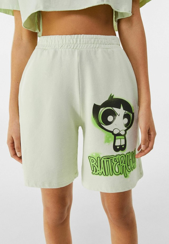 POWERPUFF GIRLS - Short - green