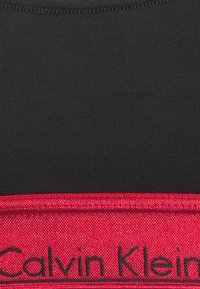 Calvin Klein Underwear - MODERN UNLINED BRALETTE - Bustier - black/red - 6