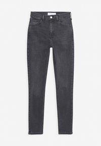 Topshop - JAMIE CLEAN - Jeans Skinny Fit - black denim - 4