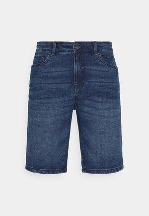 SDRYDER - Denim shorts - middle blue denim