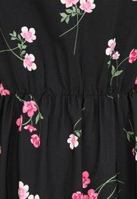 Simply Be - TIERED SLEEVE DRESS - Maxi dress - black - 2