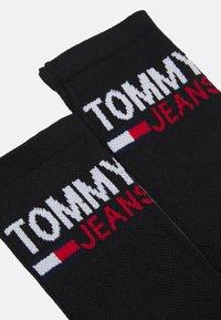 Tommy Jeans - VINTAGE CUT SOCKS 2 PACK UNISEX - Ponožky - black/yellow - 1