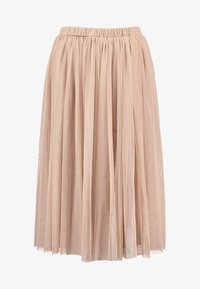 Lace & Beads Petite - VAL SKIRT - A-Linien-Rock - mink - 4