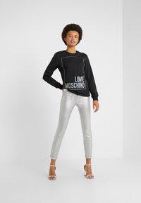 Pinko - SUSAN  - Jeans Skinny Fit - argento metallizzato - 1