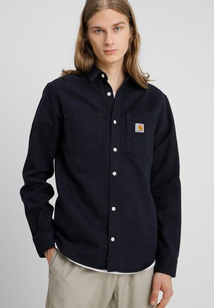 TONY UTAH - Shirt - dark navy rigid