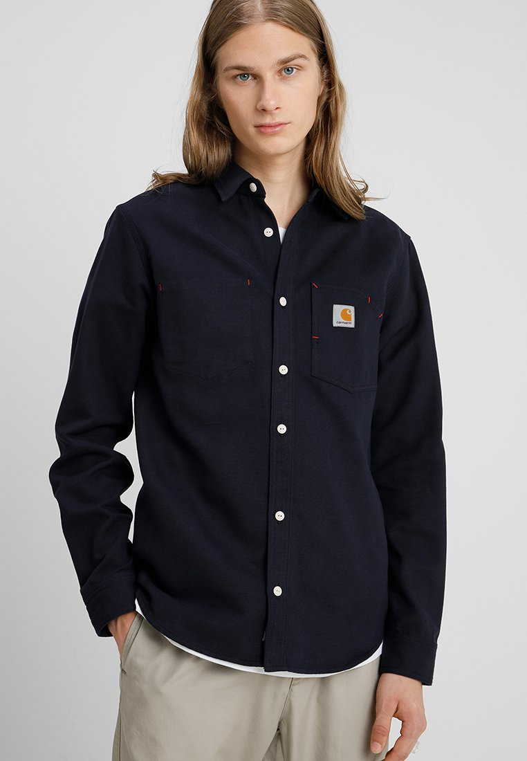 Carhartt WIP - TONY UTAH - Shirt - dark navy rigid