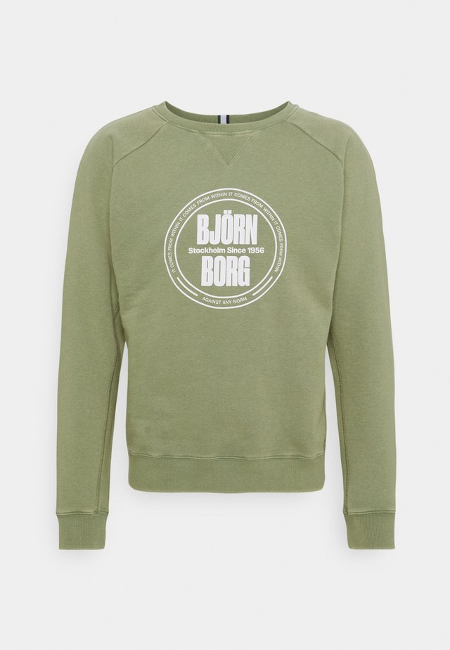 SPORT CREW - Sweater - oil green