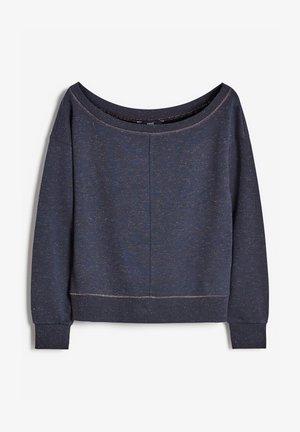 Sweatshirt - metallic blue