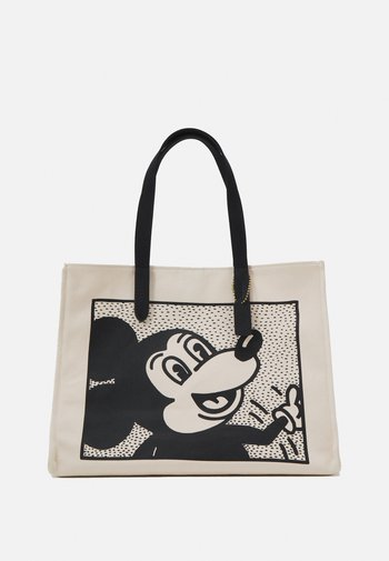 DISNEY KEITH HARING MICKEY TOTE - Tote bag - chalk