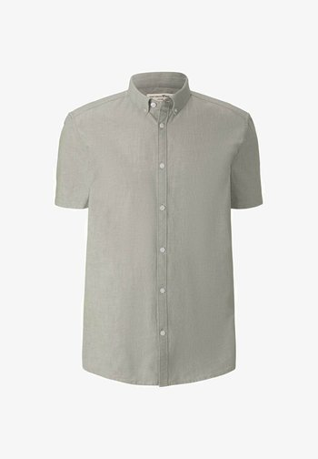 Camisa - light olive chambray