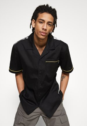 CRAZY WOVEN  - Shirt - black