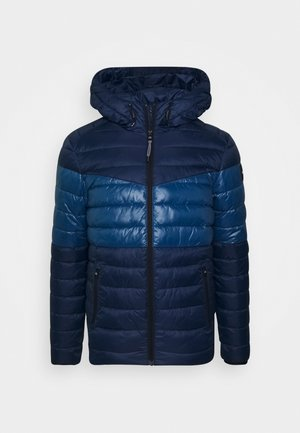 HOODED JACKET - Light jacket - blue