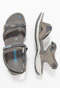Hi-Tec - SILKY - Chodecké sandály - dark grey/blue - 1