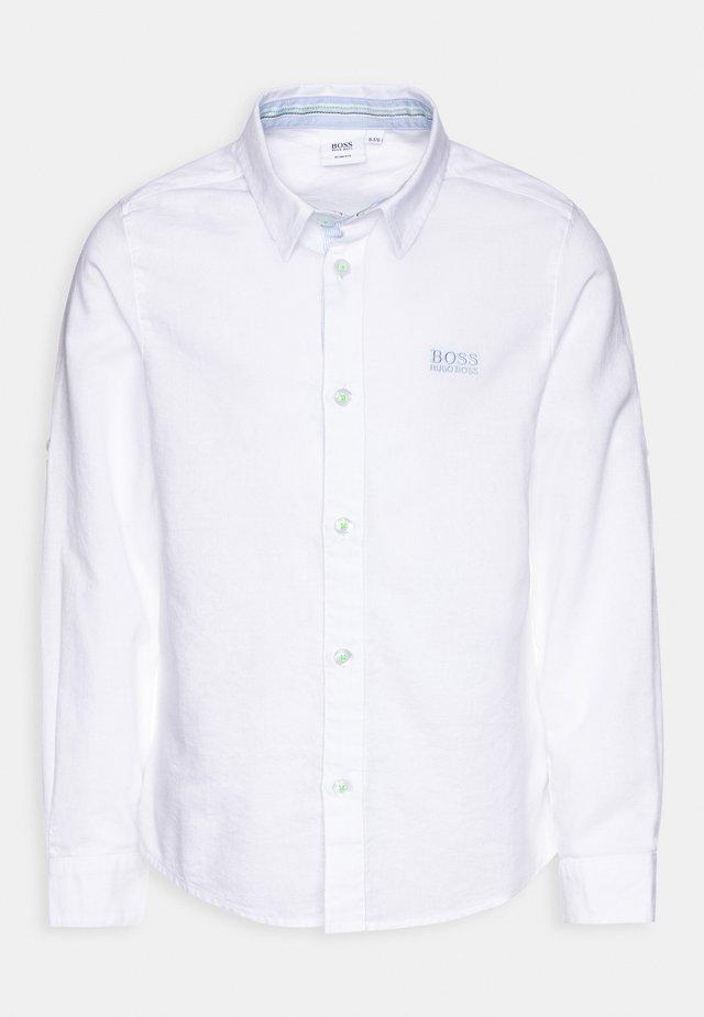 LONG SLEEVED - Camisa - white