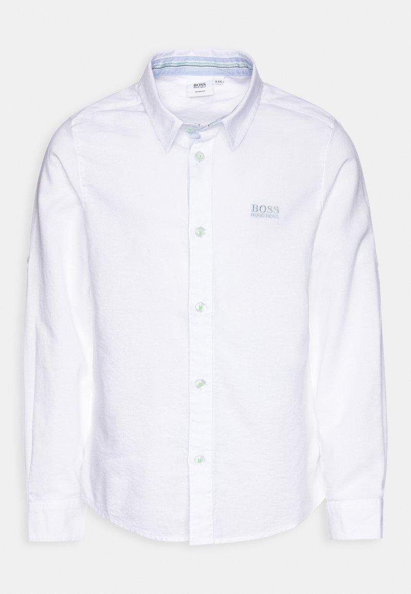 BOSS Kidswear - LONG SLEEVED - Košile - white