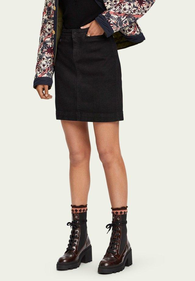 Jeansnederdel/ cowboy nederdele - elegant black